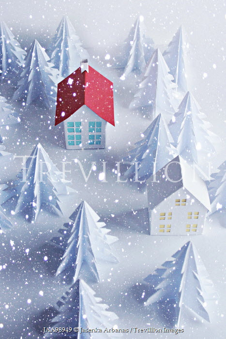 Jasenka Arbanas PAPER HOUSES IN THE SNOW Miscellaneous Objects