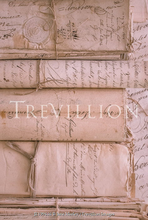 Jane Morley CLOSE UP OF HISTORICAL DOCUMENTS Miscellaneous Objects