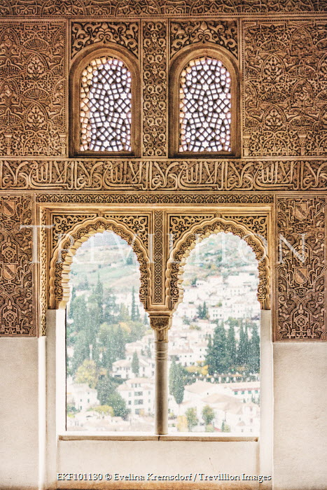 Evelina Kremsdorf ALHAMBRA PALACE IN GRANADA Miscellaneous Cities/Towns