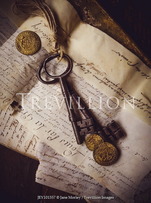 Jane Morley OLD KEYS COINS AND DOCUMENTS Miscellaneous Objects