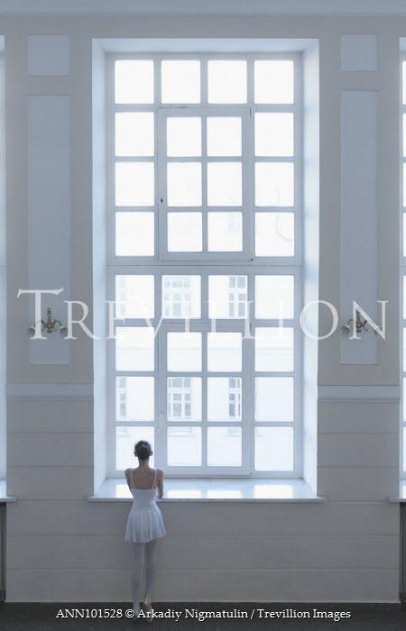 Arkadiy Nigmatulin BALLERINA LOOKING OUT WINDOW Women