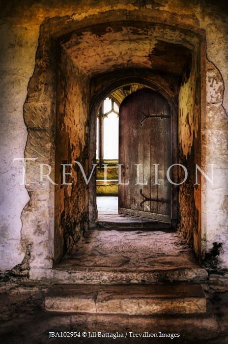 Jill Battaglia OPEN DOOR IN HISTORICAL BUILDING Building Detail