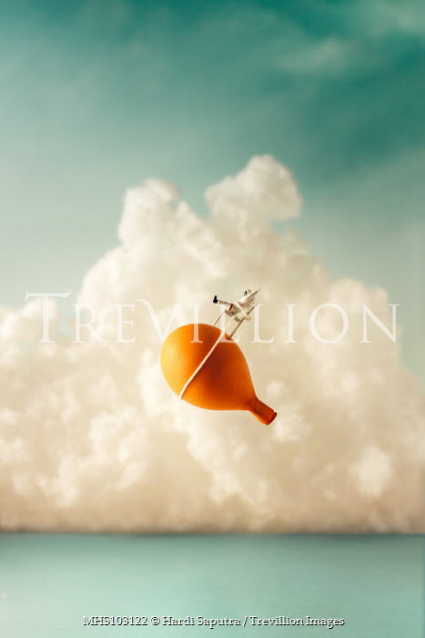 Hardi Saputra TOY ASTRONAUT STRAPPED TO BALLOON Miscellaneous Objects