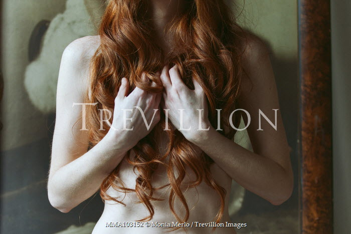 Monia Merlo NAKED WOMAN WITH RED HAIR Women