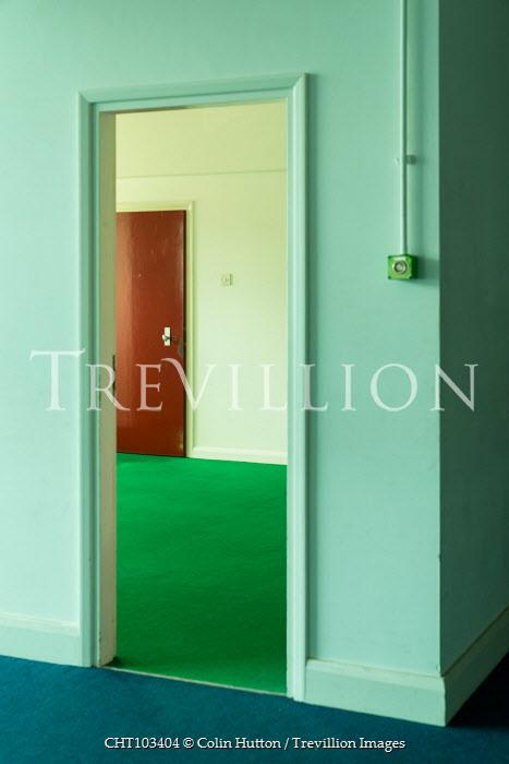 Colin Hutton EMPTY INTERIOR OF RETRO APARTMENT Interiors/Rooms