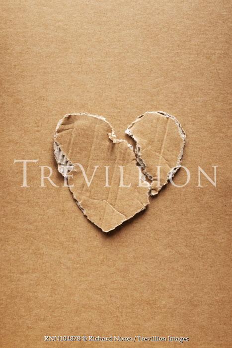 Richard Nixon HEART SHAPED CARDBOARD CUTOUT Miscellaneous Objects