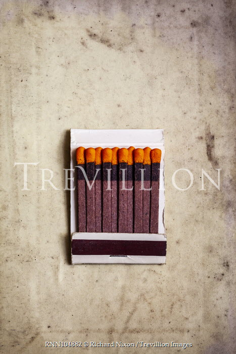Richard Nixon CARDBOARD STRIP OF OF MATCHES Miscellaneous Objects