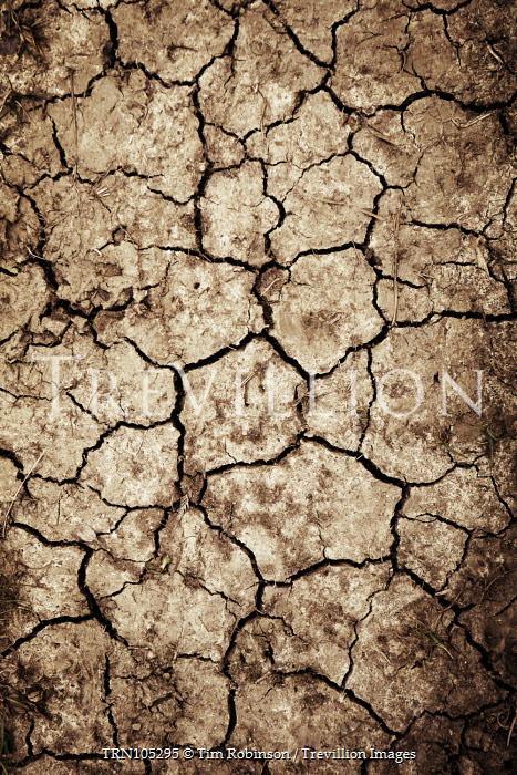 Tim Robinson DRY CRACKED SOIL FROM ABOVE Desert