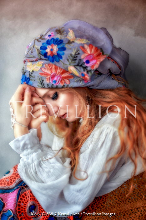 Kamil Akca Red haired traveller woman Women