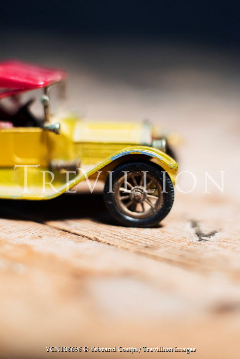 Ysbrand Cosijn Miniature toy yellow car Miscellaneous Objects