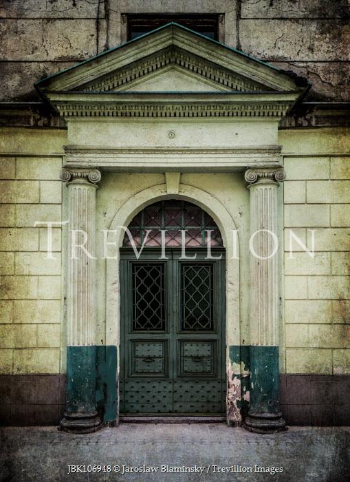 Jaroslaw Blaminsky HISTORICAL DOORWAY WITH COLUMNS Building Detail