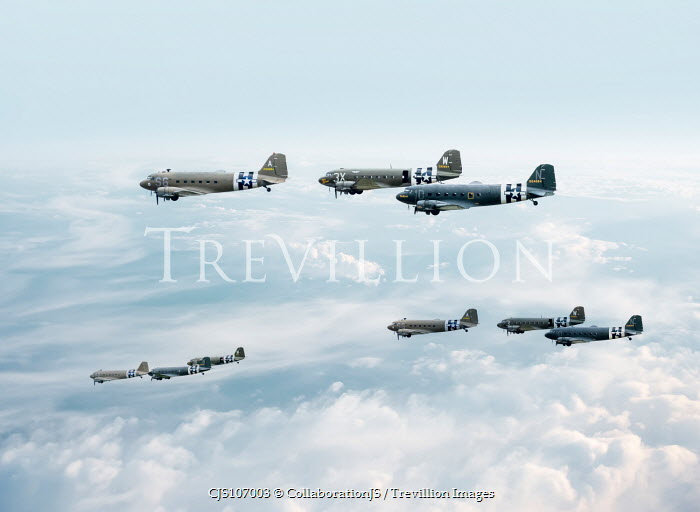 CollaborationJS War planes in sky Miscellaneous Transport