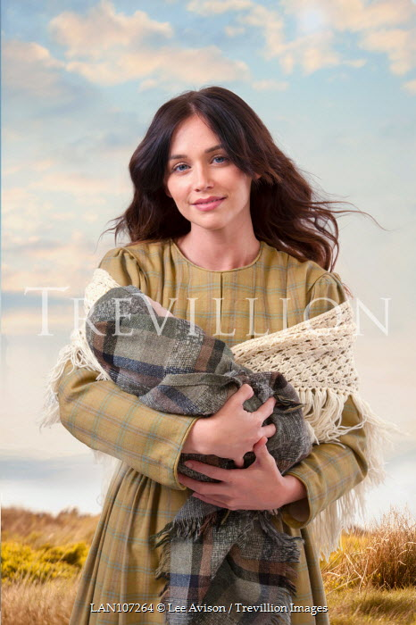 Lee Avison working class victorian woman with baby