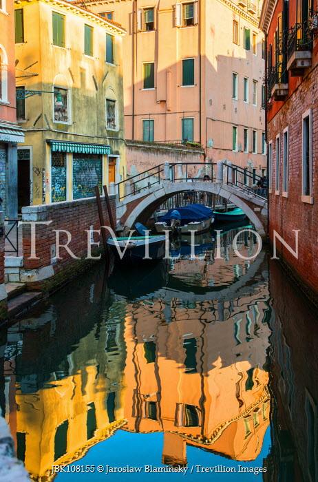 Jaroslaw Blaminsky BRIDGE OVER VENETIAN CANAL Miscellaneous Cities/Towns