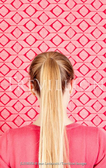 Jean Ladzinski Young girl's long blonde hair Children