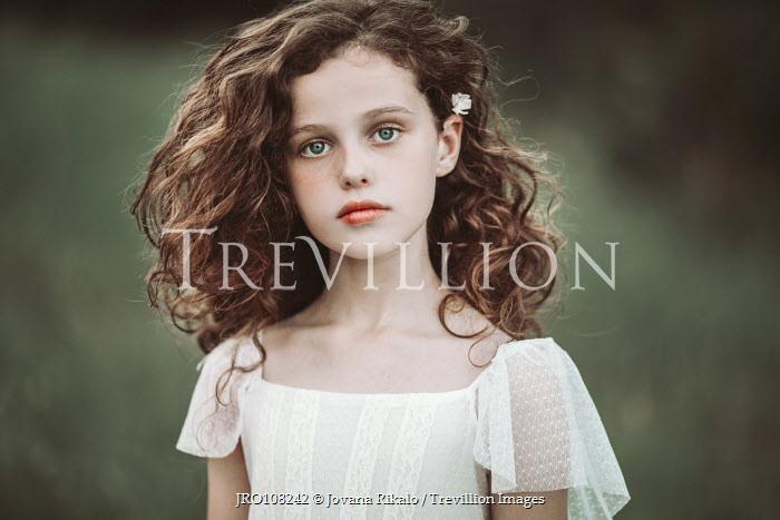 Jovana Rikalo Little girl with curly hair Children