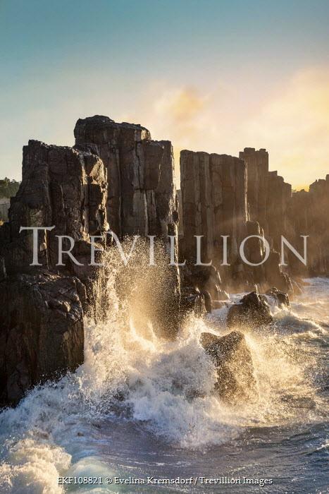 Evelina Kremsdorf Waves against large rocks Seascapes/Beaches