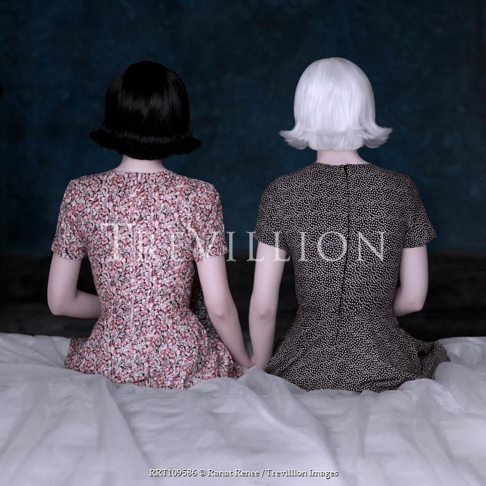 Ranat Renee Two women sat on bed Women