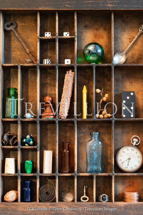 Peter Chadwick Wooden shelves with compartments Miscellaneous Objects