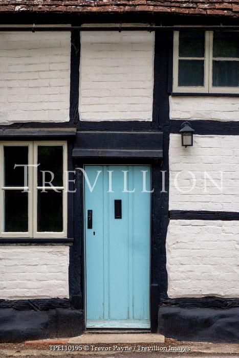 Trevor Payne OLD HOUSE WITH BLUE DOOR Building Detail