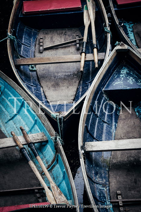 Trevor Payne CLOSE UP OF WOODEN BOATS Boats