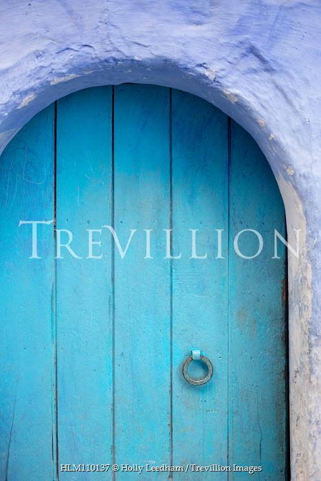 Holly Leedham EXTERIOR OF DOORWAY IN OLD BLUE BUILDING Building Detail