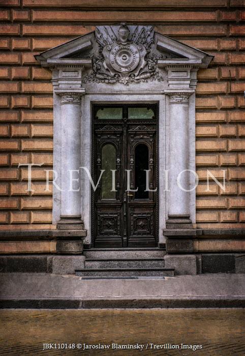 Jaroslaw Blaminsky RAND DOORWAY IN STONE BUILDING Building Detail
