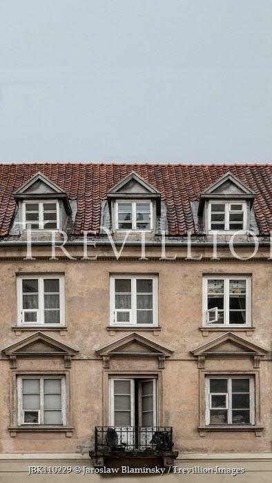 Jaroslaw Blaminsky CLOSE UP OF OLD BUILDING Houses