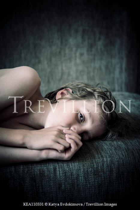 Katya Evdokimova BOY LYING ON BED Children