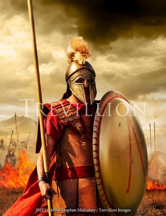 Stephen Mulcahey spartan  greek hopolites on the battlefield