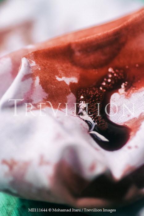Mohamad Itani Blood on white sheet