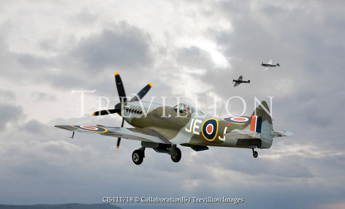 CollaborationJS SPITFIRE PLANES FLYING IN SKY Miscellaneous Transport