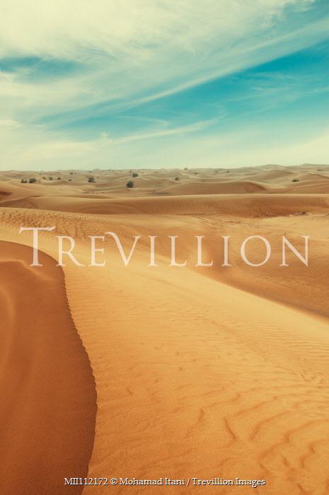 Mohamad Itani EMPTY DESERT WITH BLUE SKY Desert