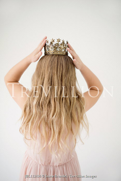 Jaime Brandel Girl wearing crown Children