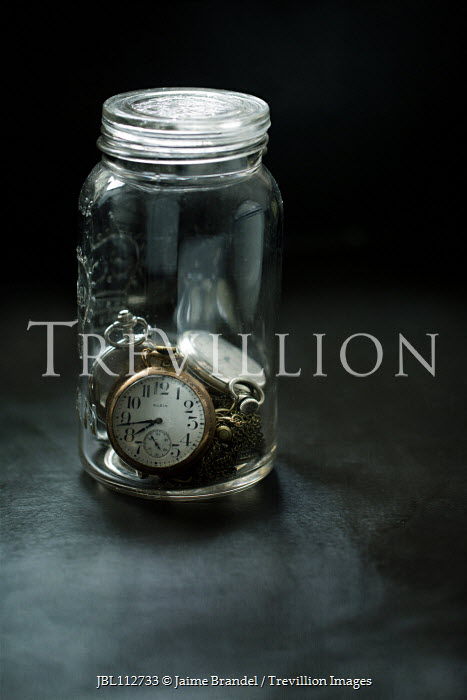 Jaime Brandel Pocket watches in jar Miscellaneous Objects