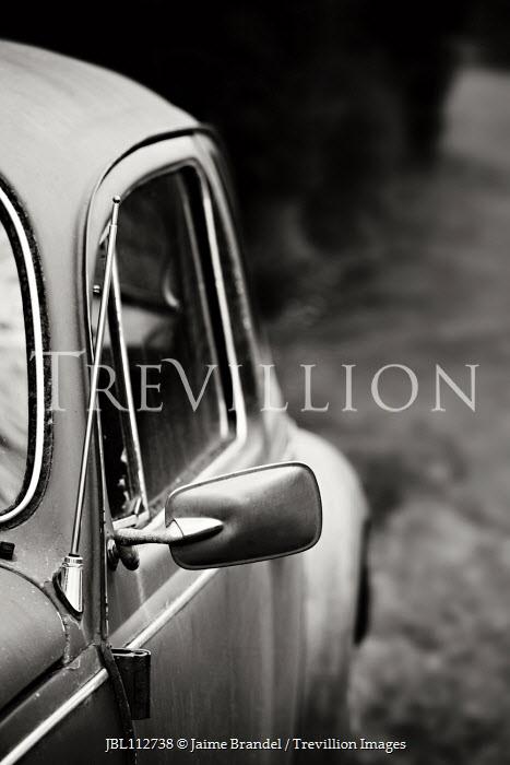 Jaime Brandel Wing mirror of vintage car