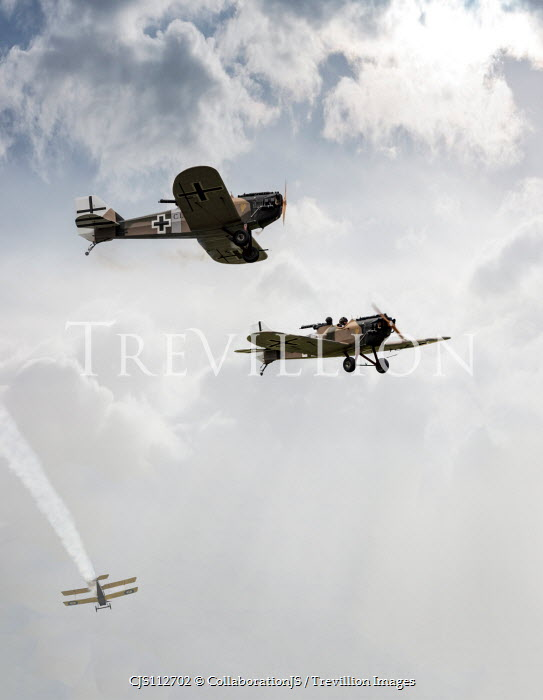 CollaborationJS First world war german fighter planes Miscellaneous Transport