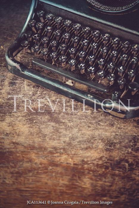 Joanna Czogala Typewriter on wooden table