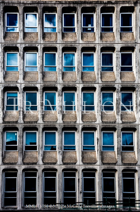 Maggie McCall Windows of apartment building