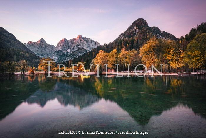 Evelina Kremsdorf Lake Jasna. Kranjska Gora. Triglav National Park