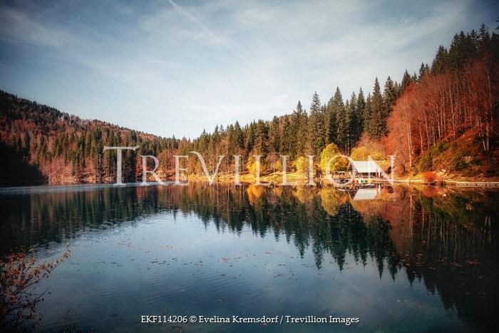 Evelina Kremsdorf Lago di Fusine, Italy