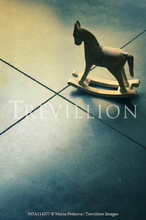 Maria Petkova miniature rocking horse on floor Miscellaneous Objects