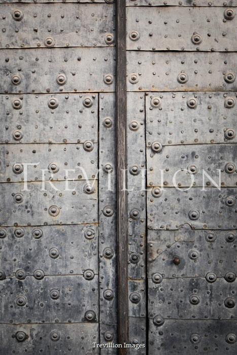 Tim Robinson CLOSE UP OF IRON DOOR Building Detail