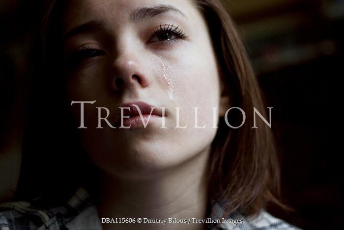 Dmitriy Bilous Young woman crying