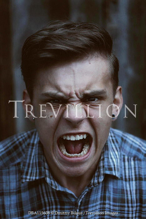 Dmitriy Bilous Teenage boy screaming
