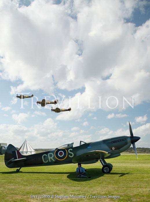 Stephen Mulcahey World War II RAF airfield in Kent, England
