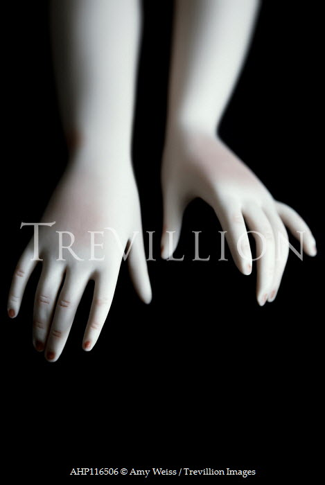 Amy Weiss CLOSE UP OF DOLLS HANDS Miscellaneous Objects