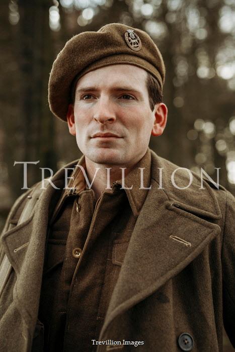 Shelley Richmond Portrait of soldier in uniform