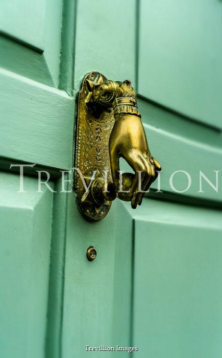 Stephen Mulcahey A brass front door knocker