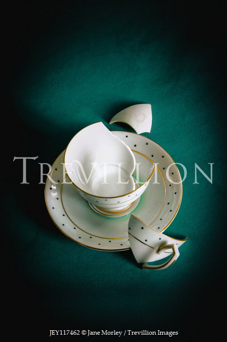 Jane Morley EMPTY BROKEN CUP FROM ABOVE Miscellaneous Objects